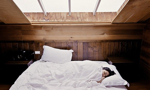 二度寝の画像