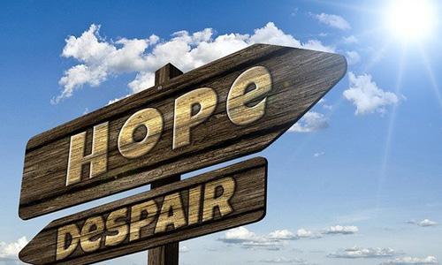 「絶望から希望へ」の画像