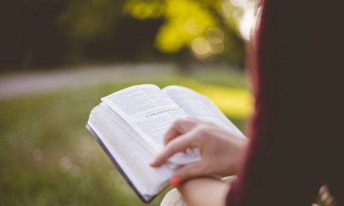 読書している人の画像